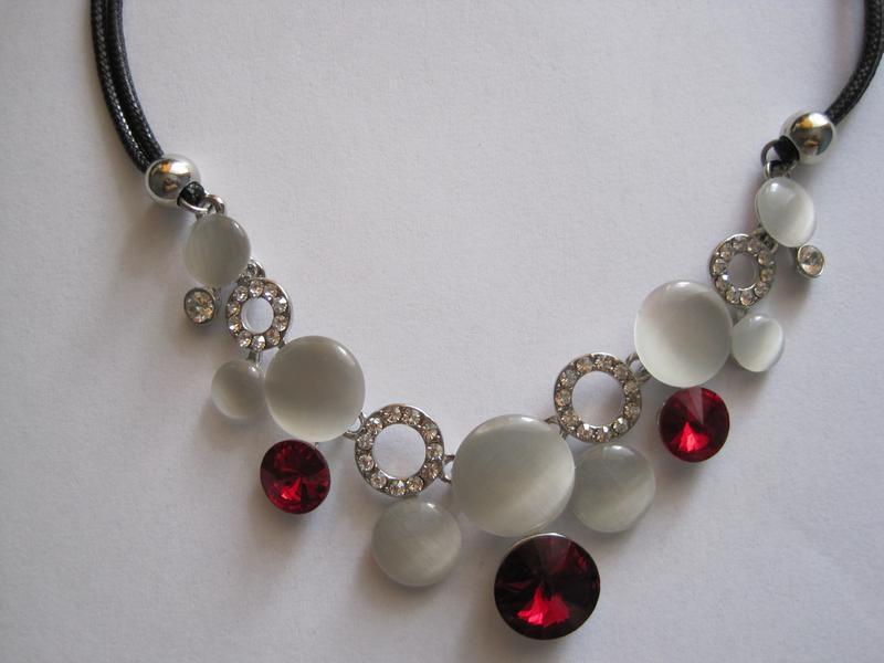 4-45 ожерелье opal бижутерия - Фото 5