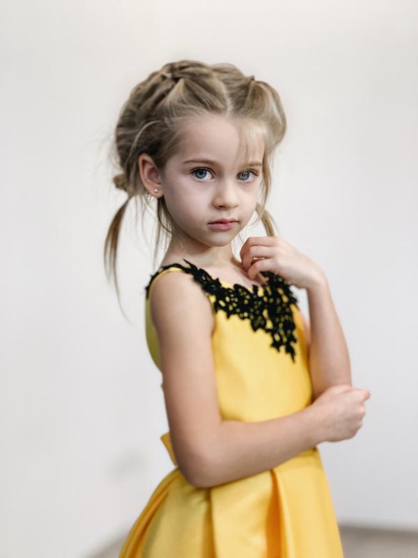 Детское платье на выпускной в сад - Фото 2