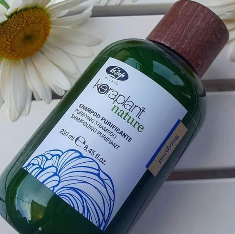 Lisap keraplant antidandruff purifying bath шампунь против пер... - Фото 2