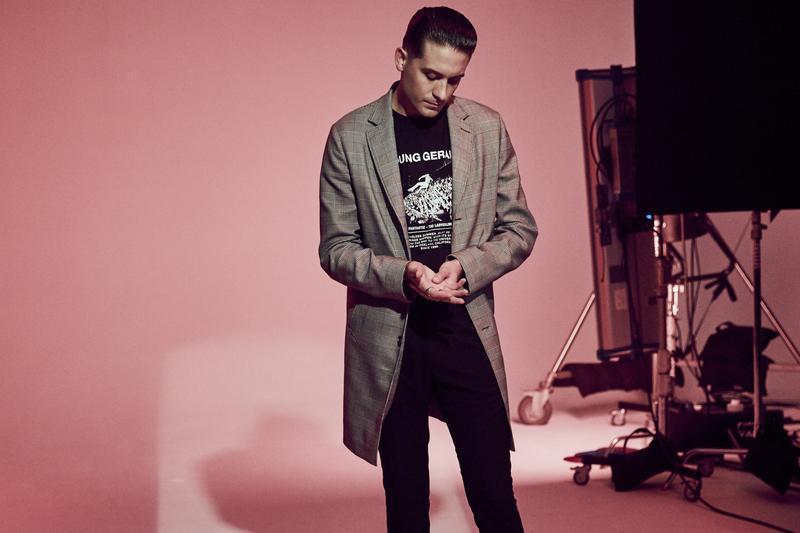 "Мужской свитшот h&m x g-eazy ""young gerald"" sweatshirt"