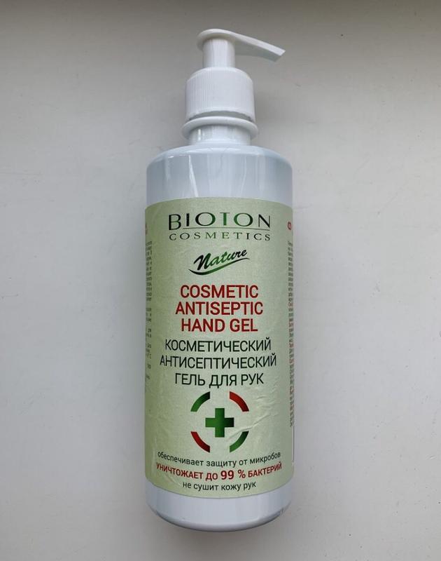 Антисептик гелевый для рук Bioton Antiseptic Hand Gel 400 мл - Фото 2