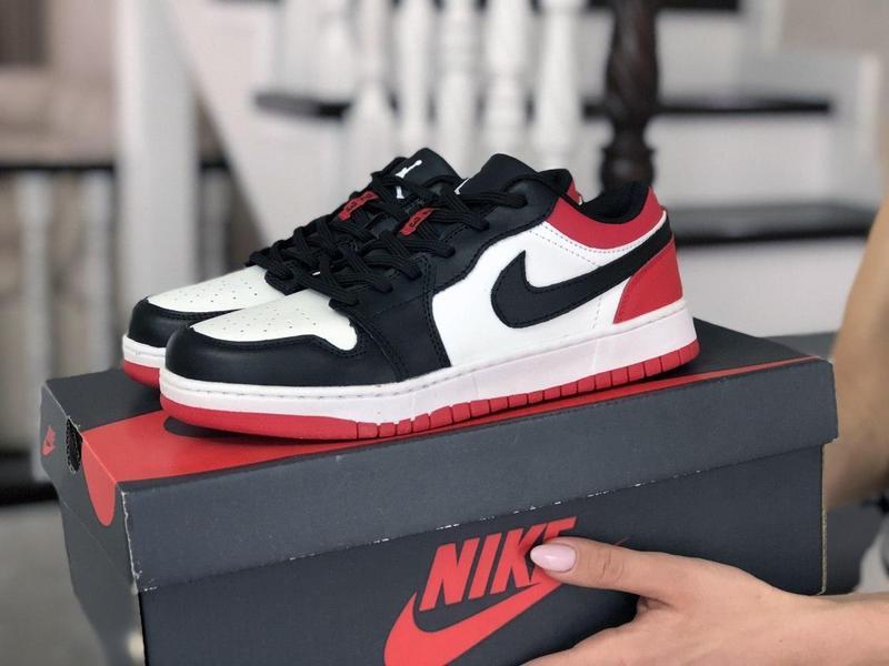 Nike air jordan 1 low - Фото 4