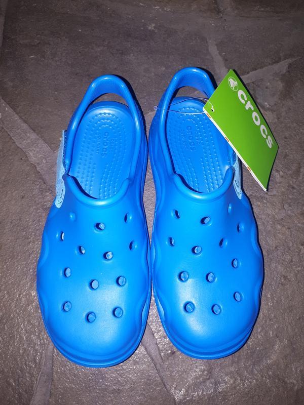 Детские тапочки для сада crocs - Фото 3
