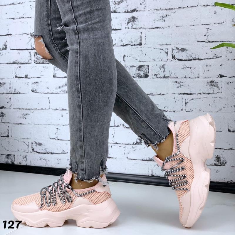 Новиночка стильные кроссовки - Фото 2