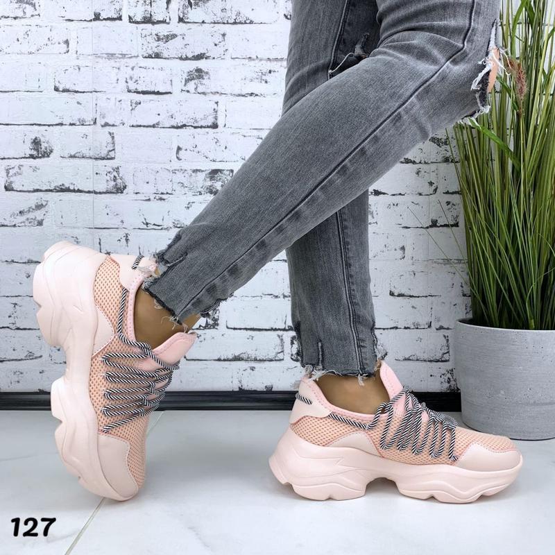 Новиночка стильные кроссовки - Фото 3