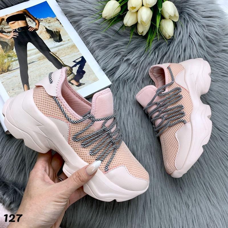Новиночка стильные кроссовки - Фото 4