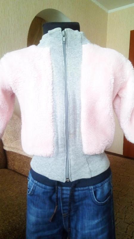 Кофта--куртка для девочки