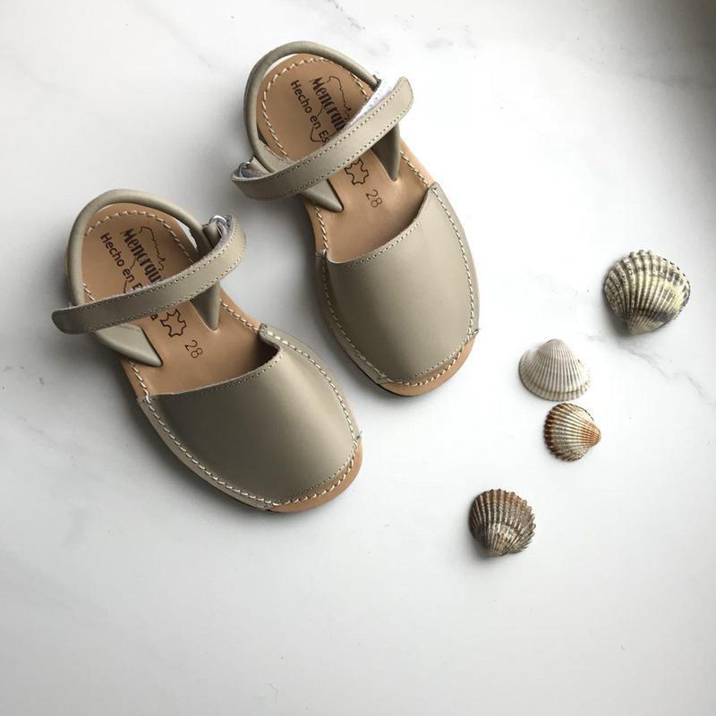 Детские менорки сандали кожа испания оригинал 28 р - Фото 2