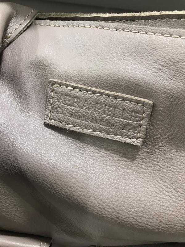 Сумка шопер италия нежная тонкая кожа vera pelle - Фото 3
