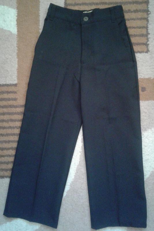 Брюки, штаны классические черные школьные, стрелки , тм одягайко
