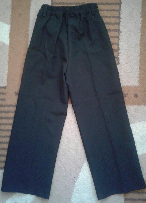 Брюки, штаны классические черные школьные, стрелки , тм одягайко - Фото 2