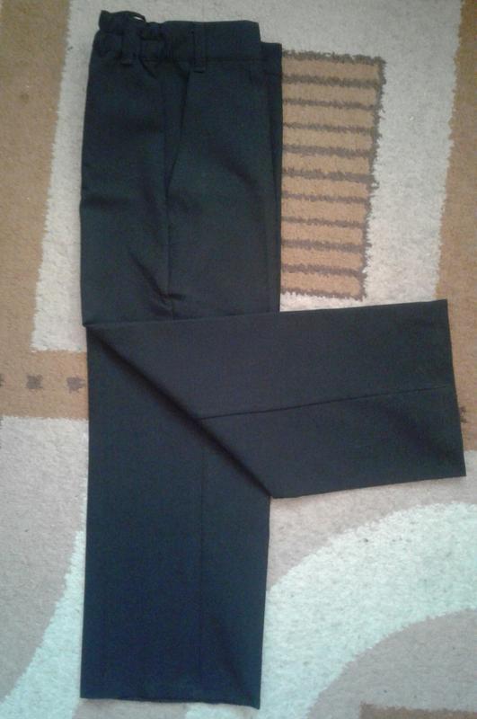 Брюки, штаны классические черные школьные, стрелки , тм одягайко - Фото 3