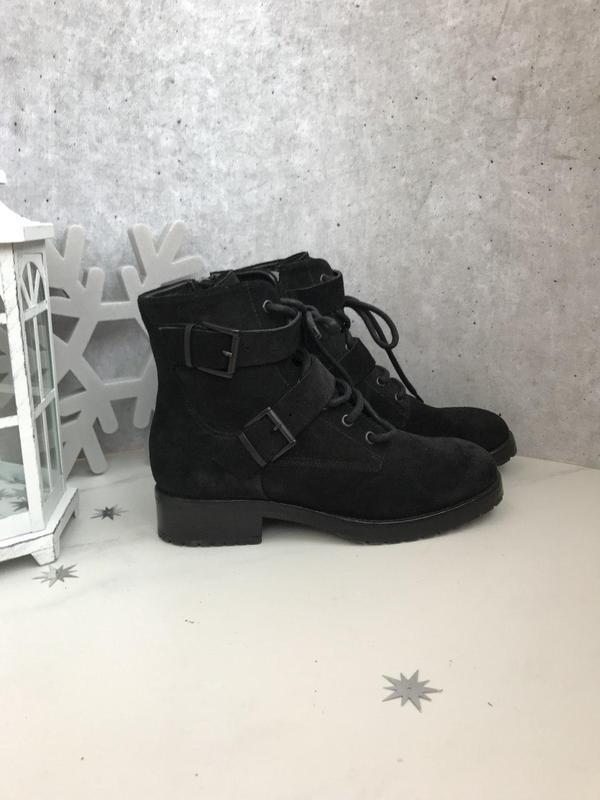 37 р ботинки ботинки lemare италия замша