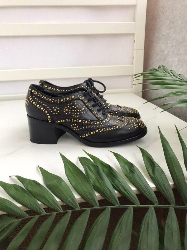 Туфли на удобном каблуке lemare 37 p