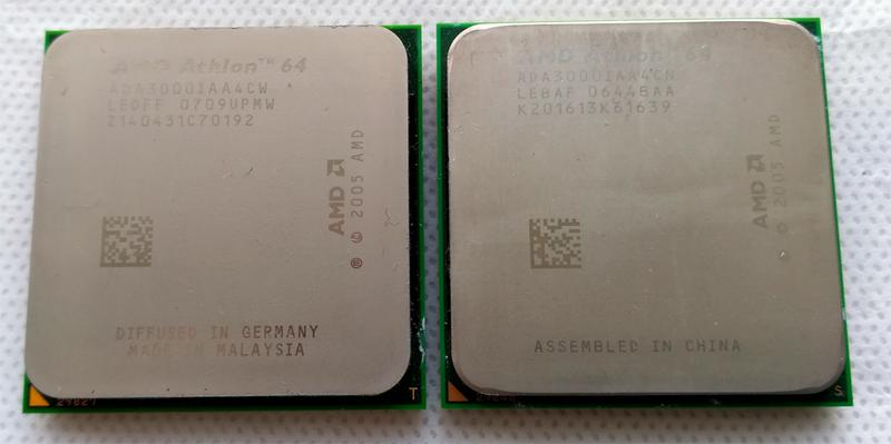 Процессор AMD Athlon 64 3000+ Socket AM2