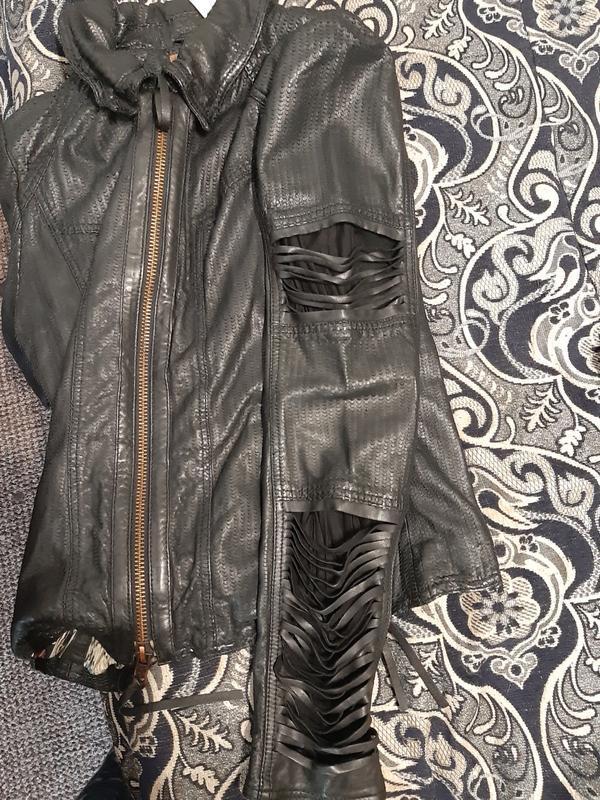 Куртка кожаная true-born только оригиналы марок - Фото 3