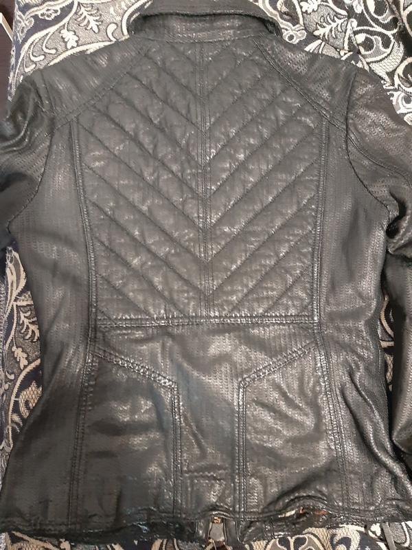 Куртка кожаная true-born только оригиналы марок - Фото 5