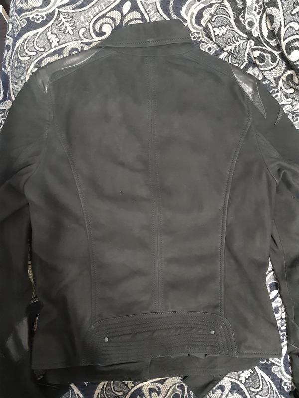 Куртка кожаная maze   только оригиналы марок - Фото 4
