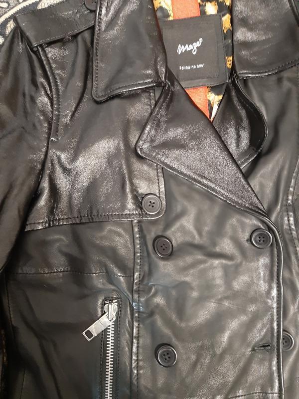 Куртка кожаная mazeтолько оригиналы марок - Фото 2