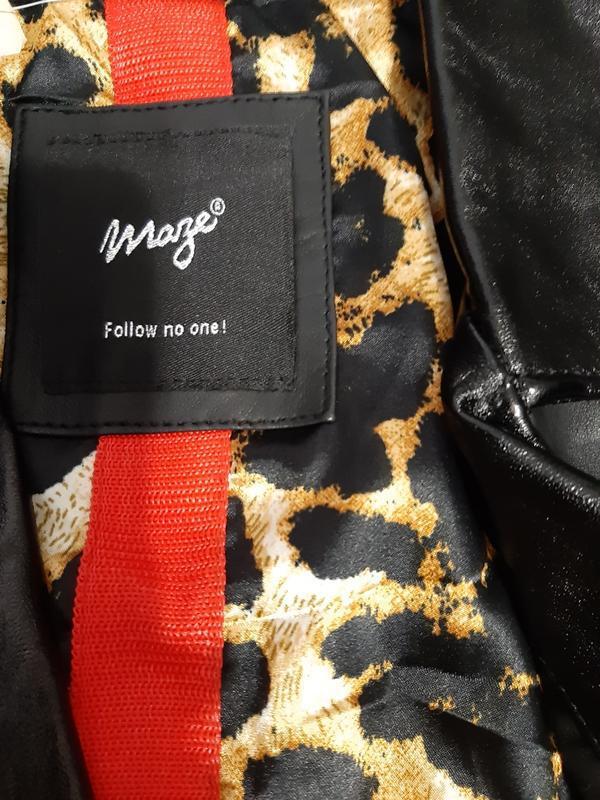 Куртка кожаная mazeтолько оригиналы марок - Фото 3