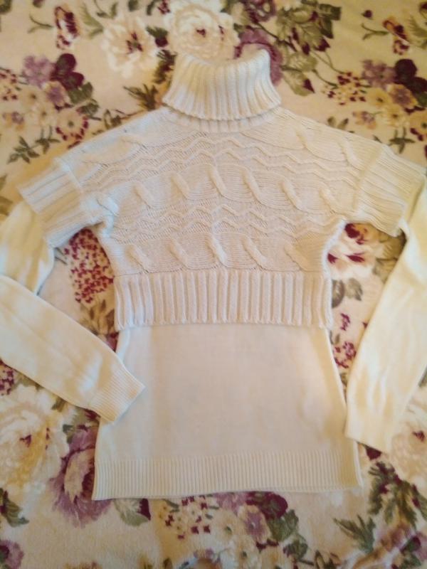 Стильный, тёплый, актуальный свитер