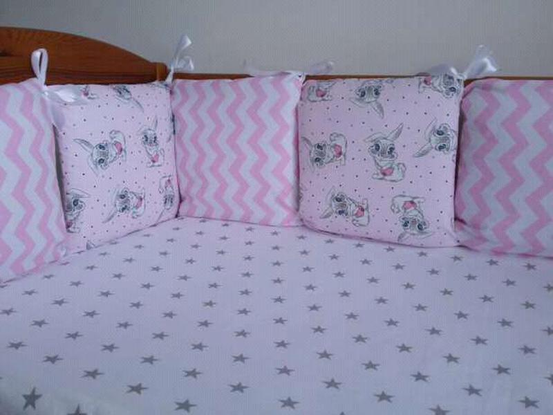 Бортики -защита в детскую кроватку - Фото 10