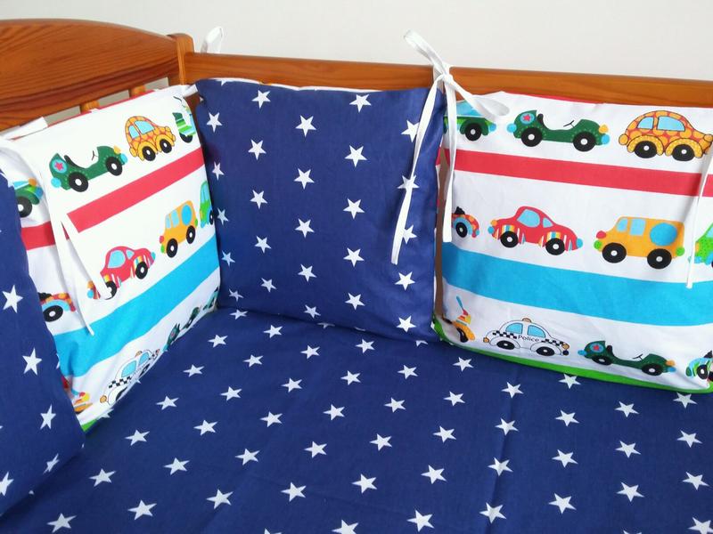 Бортики -защита в детскую кроватку - Фото 18