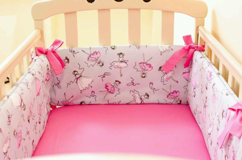 Бортики в детскую кроватку - Фото 4