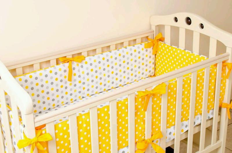 Бортики в детскую кроватку - Фото 7