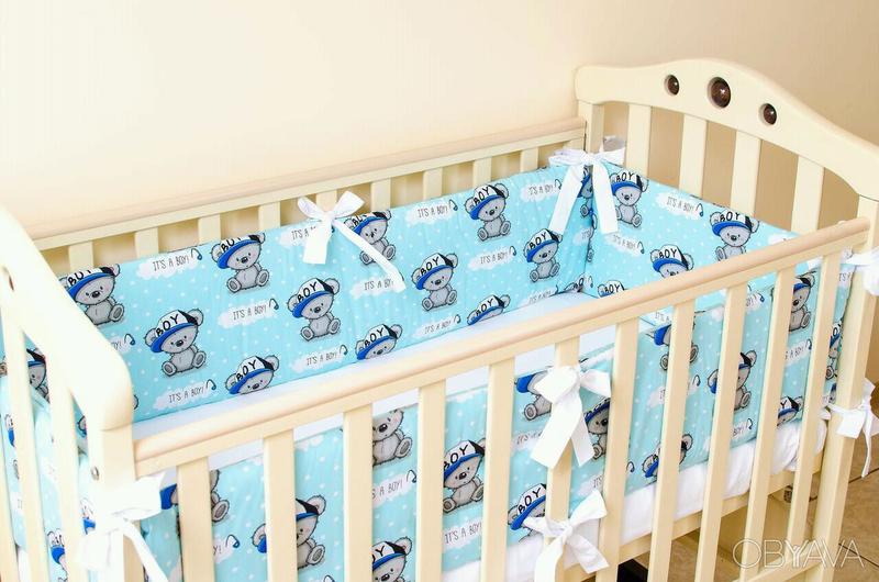 Бортики в детскую кроватку - Фото 15