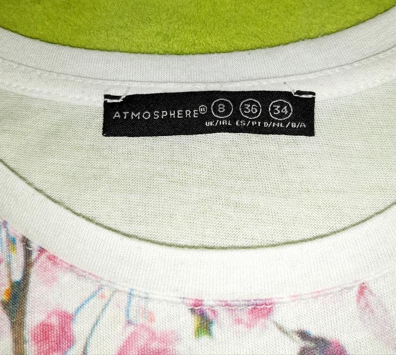 Свободная футболка с ярким принтом bronx atmosphere - Фото 7