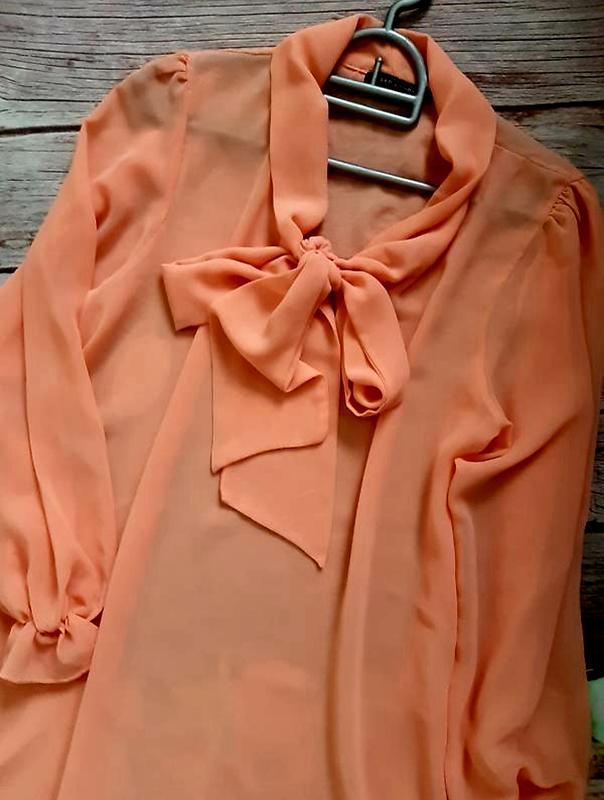 Стильная нарядная блузка шифоновая - Фото 2
