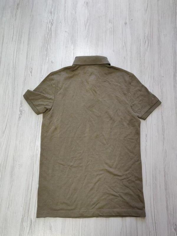 Распродажа до 15 мая🆘 мужская футболка поло в цвете хаки - Фото 2