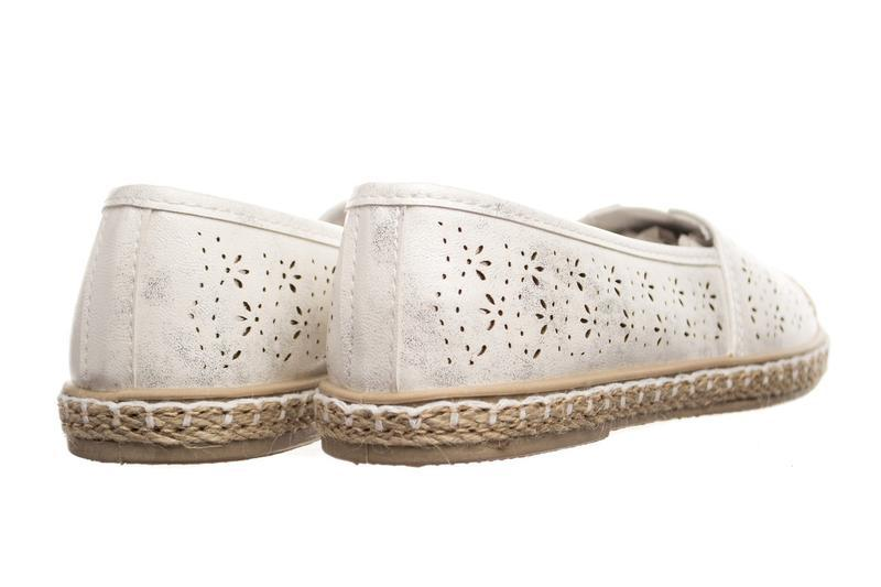 Балетки collection silver white - Фото 2