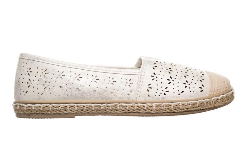 Балетки collection silver white - Фото 3