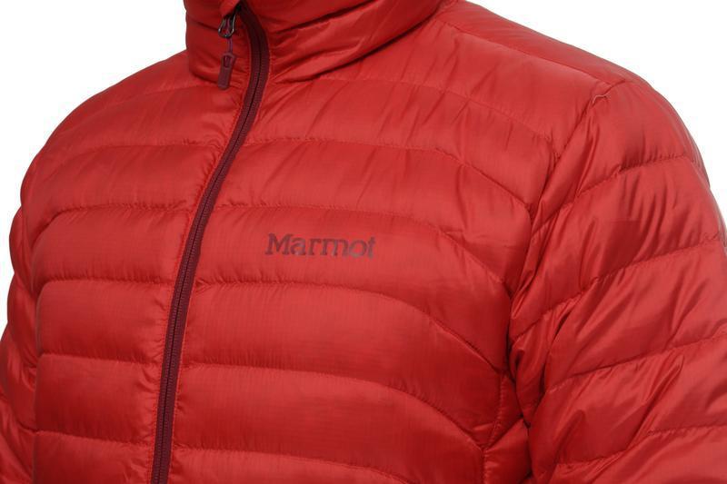 Куртка чоловіча marmot tullus jacket m rocket red - Фото 3