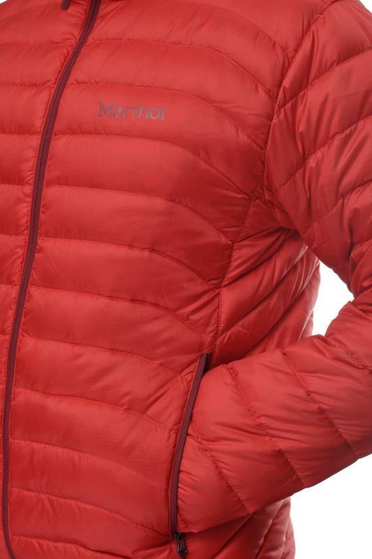 Куртка чоловіча marmot tullus jacket m rocket red - Фото 4