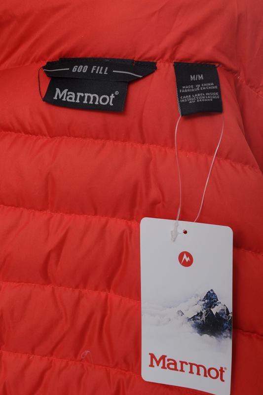 Куртка чоловіча marmot tullus jacket m rocket red - Фото 5