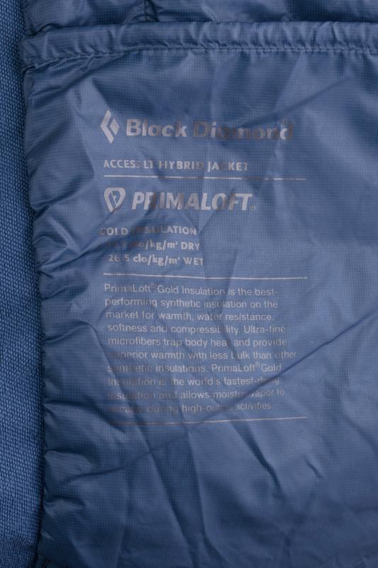 Куртка чоловіча black diamond m's access lt hybrid jacket s az... - Фото 5