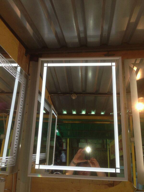 Зеркала  LED СВІТЛОДІОДНІ  для ванни кімнат - Фото 6