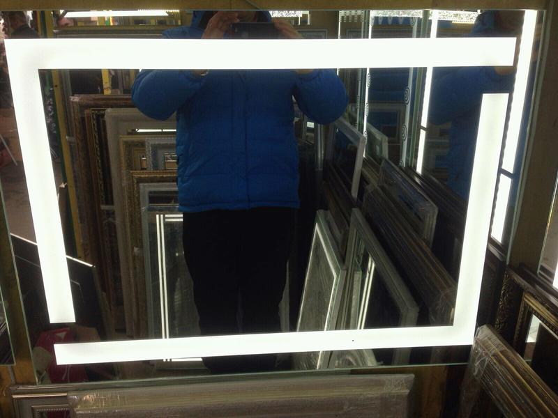 Зеркала  LED СВІТЛОДІОДНІ  для ванни кімнат - Фото 5