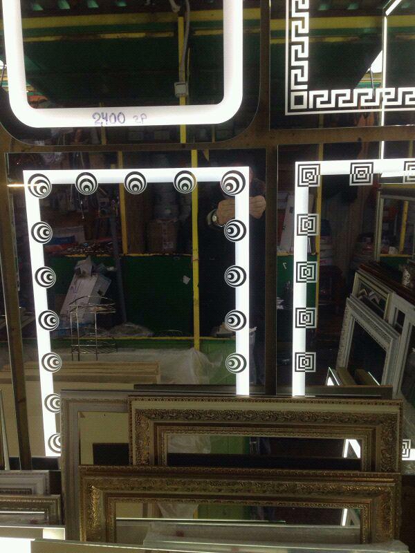 Зеркала  LED СВІТЛОДІОДНІ  для ванни кімнат - Фото 10