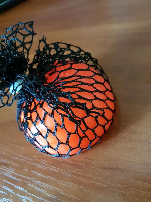 Стрессбол Лизун мяч в сетке 6см антистрес - Фото 3