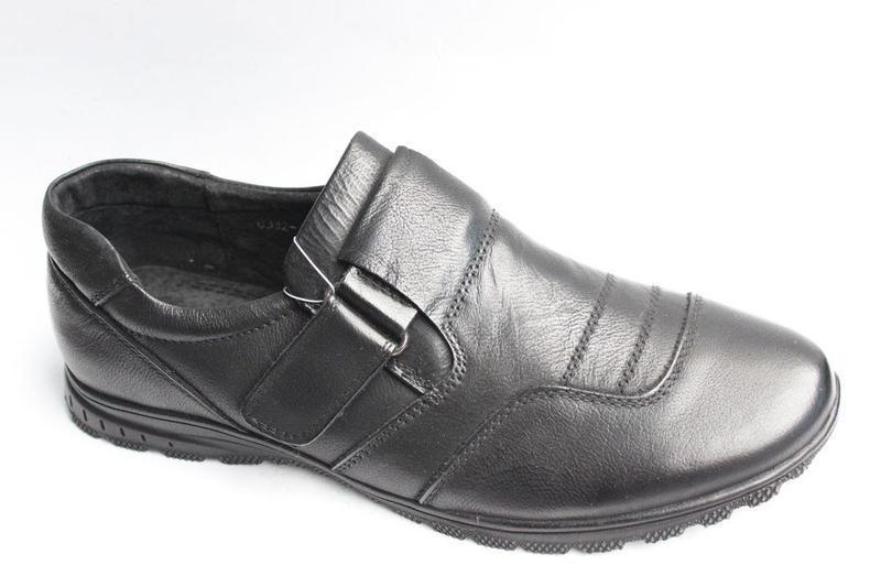 Закрытые закриті кожаные шкіряні туфли туфлі для подростка під...