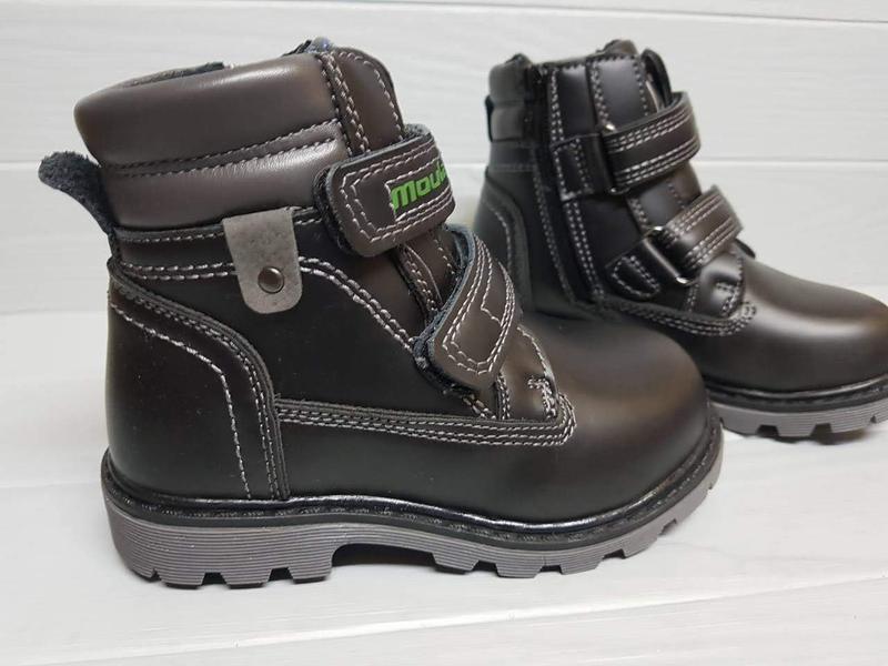 Легкие зимние сапоги ботинки прошитые внутри шерсть легкі зимо... - Фото 3
