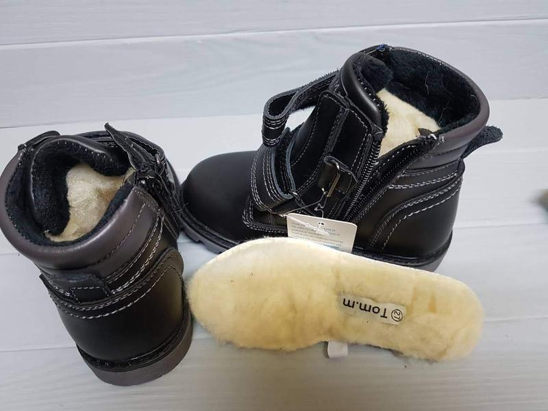Легкие зимние сапоги ботинки прошитые внутри шерсть легкі зимо... - Фото 5