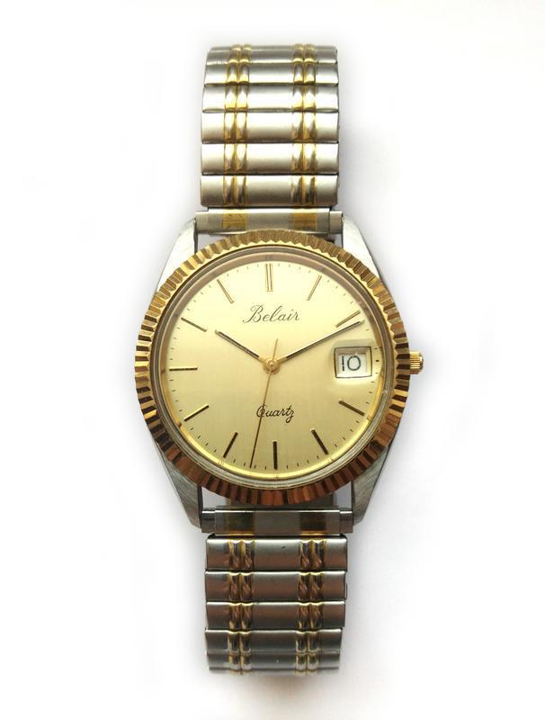 Belair мужские винтажные часы из сша сталь дата мех. eta swis ... - Фото 2