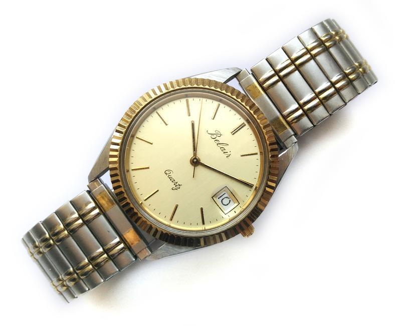 Belair мужские винтажные часы из сша сталь дата мех. eta swis ... - Фото 4
