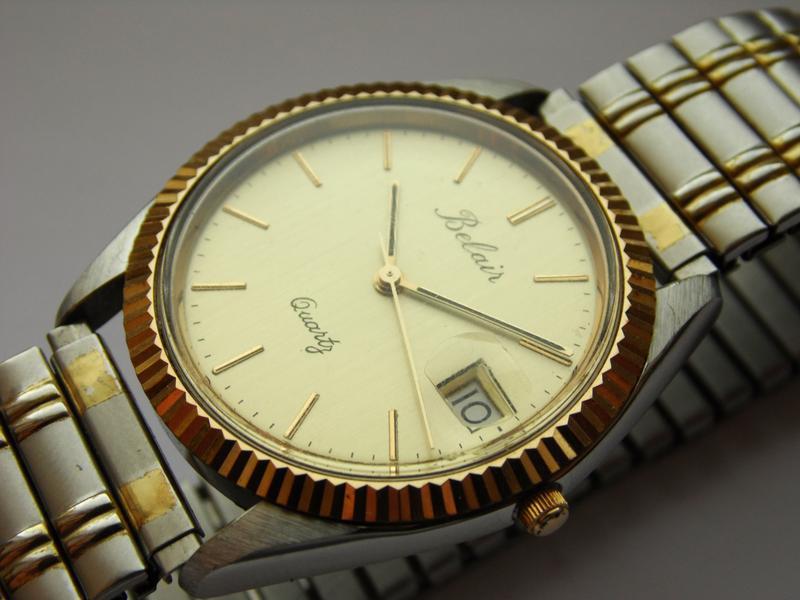Belair мужские винтажные часы из сша сталь дата мех. eta swis ... - Фото 6