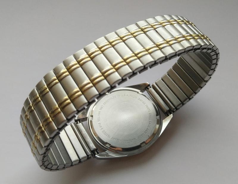 Belair мужские винтажные часы из сша сталь дата мех. eta swis ... - Фото 9